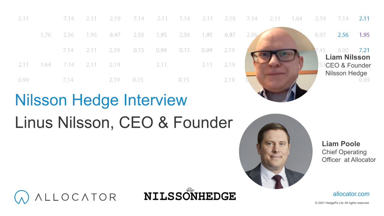 Free Nilsson Hedge database is now available on the Allocator platform