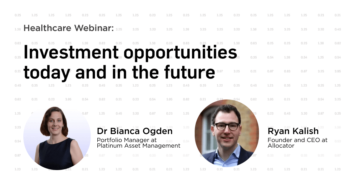 Investment opportunities today and in the future